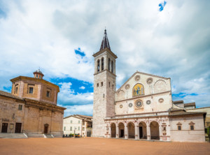 Spoleto Cathedral, Umbria, Italy
